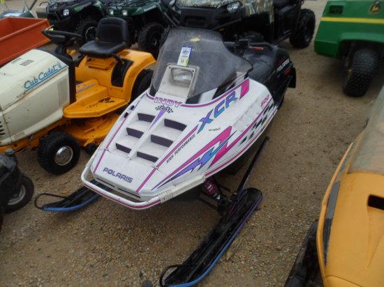 1996 Polaris XCR Snowmobile, 600