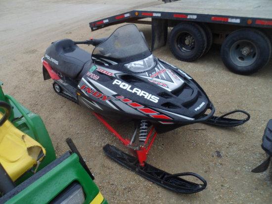 Polaris Indy 500 Snowmobile, 2500 Miles