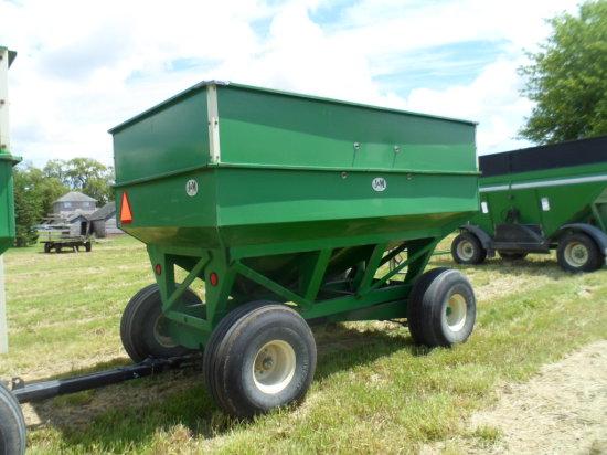 J&M 350 bu. Wagon, 16.1 flotation Tires, Lights