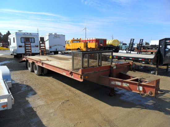 2000 Belshe Utility Trailer, Tandem Axle, dually ,