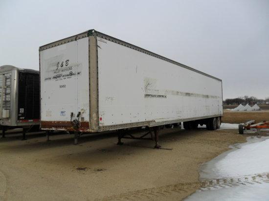 Enclosed Van Body Semi Trailer 48ft