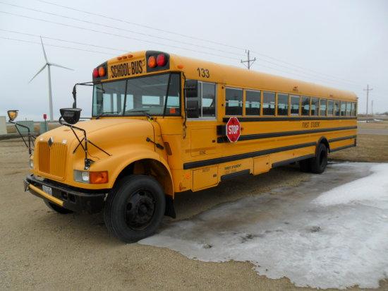 2002 International Bus, T444 E Motor, Auto Trans, 71 Passenger
