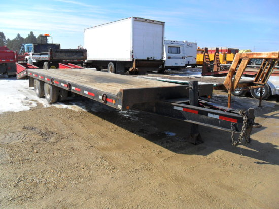 2000 Tow Master Trailer,  T30 , 20ft with 5ft Beavertail
