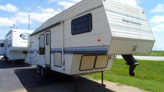 1994 Dutchman 5th Wheel Camper, 29 ft    Auctions Online