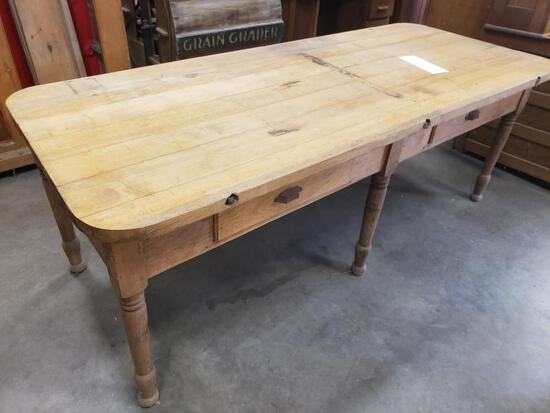 Antique Wooden Table.