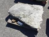 18th century limestone Walk stone