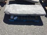 Rare limestone Stoop