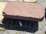 Sandstone stoop