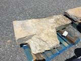 Irregular Shaped Limestone Step