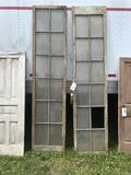 2- 12 Light Window Frames