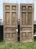 Pair of Chesnutt Victorian Pocket Doors