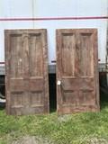 Pair of Hinged Matching Doors
