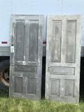 Pair of 5 Panel Doors