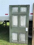 Early 19th Cen. 6 Panel Exterior Door