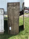 Board and Batten Primitive Door