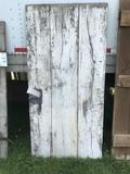 Board and Batten Smoke House Door