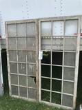 18-Light Hinged Window Sashes