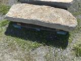 Limestone coping/step stone
