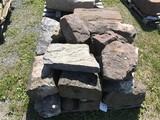 Skid of Sandstone and limestone