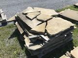 19th century irregular Paving Stone