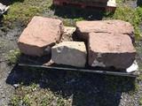 Assorted Sandstone stones