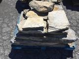 Irregular Shaped limestone yard stones