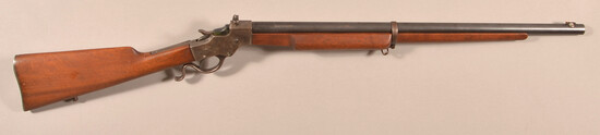 "Stevens  ""Armory Model"" No. 414  .22 lever action rifle"