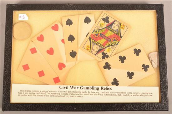 Civil War Gambling Relics