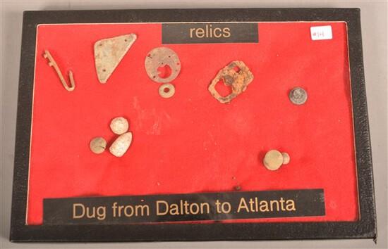 Civil War Relics in Riker Mount