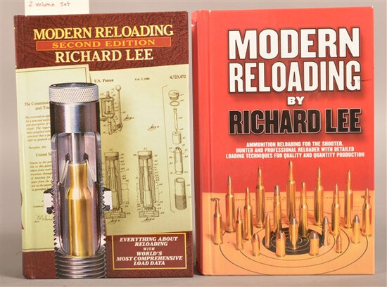 2 Volumes of Modern Reloading by Richard Lee