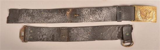 Model 1851 U.S. Officers Belt and Plate