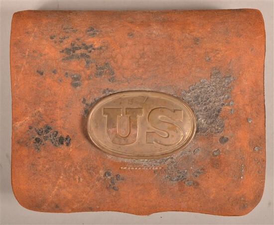 U.S. Model 1855 Cartridge Box