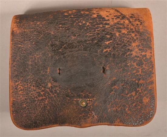 Identified H.W. Oliver Cartridge Box