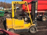 Hyster 50 propane tow motor 3000# lift