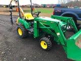 JD 2210 HST Loader Tractor