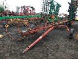Farm hand 7 wheel rake