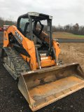 '14  Case TV 380 Skid Steer 1403 Hrs. New tracks and Spline Drive