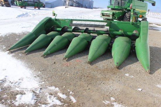 2002 John Deere 693 6x30 Poly Corn Head