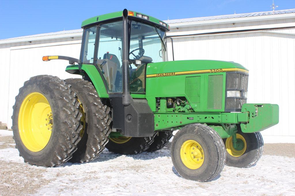 1995 John Deere 7700 Diesel 2 WD Tractor