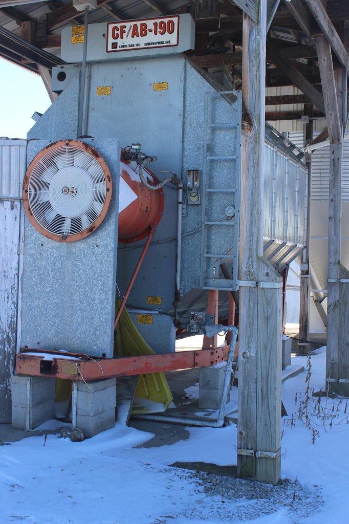Farm Fans CF-AB 190 Stainless Steel grain dryer