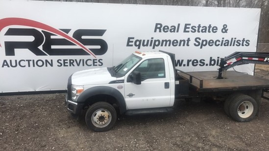 '11 Ford F550 Flatbed