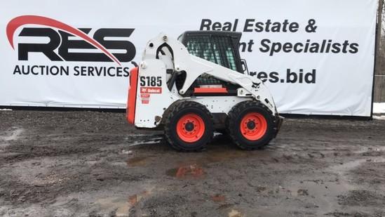 2012 Bobcat S185 Skid Steer | Heavy Construction Equipment
