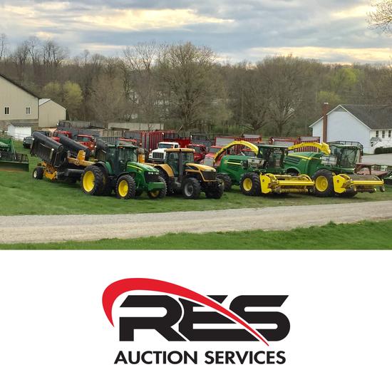 RES Equipment Yard Auction - Mastead Dispersal