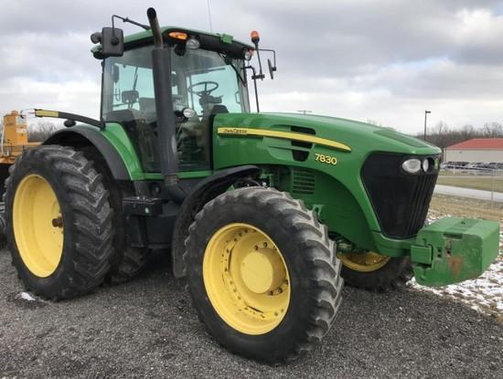 2010 John Deere 7830 Tractor, FWA
