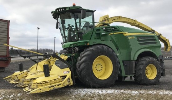2015 John Deere 8600 Forage Harvestor, RWA