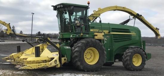 2010 John Deere 7750 ProDrive Forage Harvester RWA