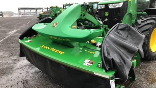 John Deere R870R & F310R