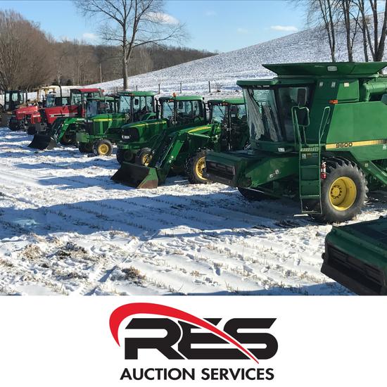 Miller Farm Equipment Auction