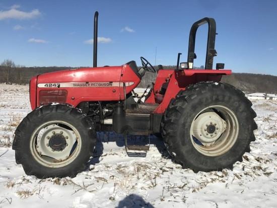 1998 Massey Ferguson 4243 open station tractor