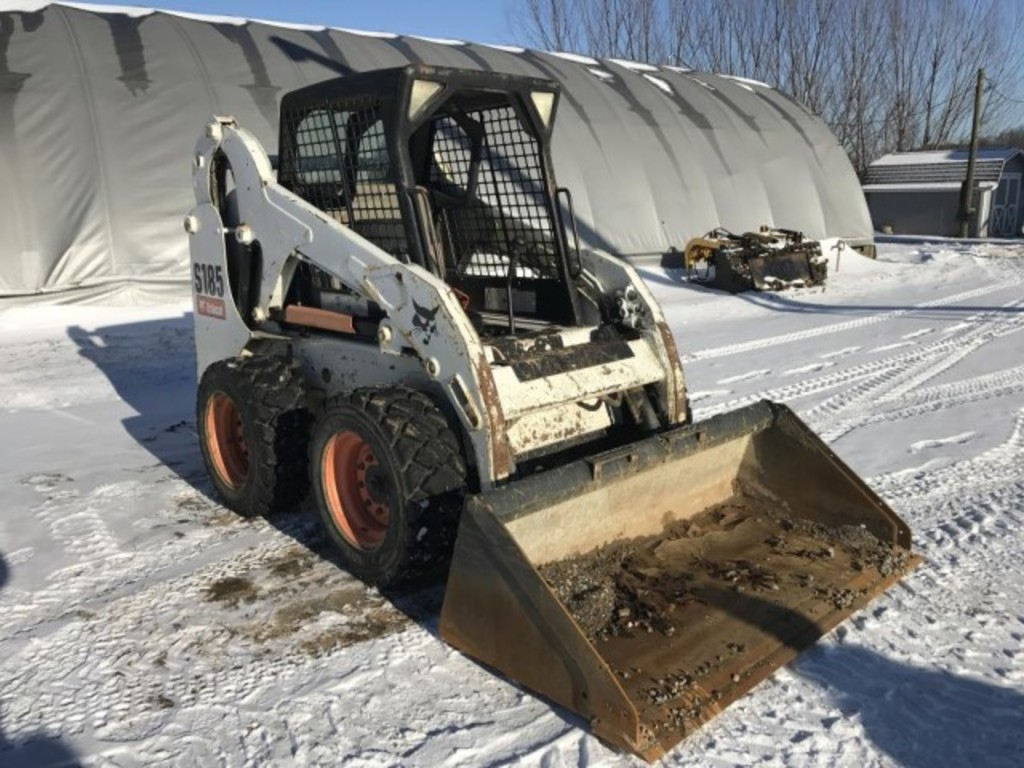 Lot: 2006 Bobcat S185 skid loader | Proxibid Auctions